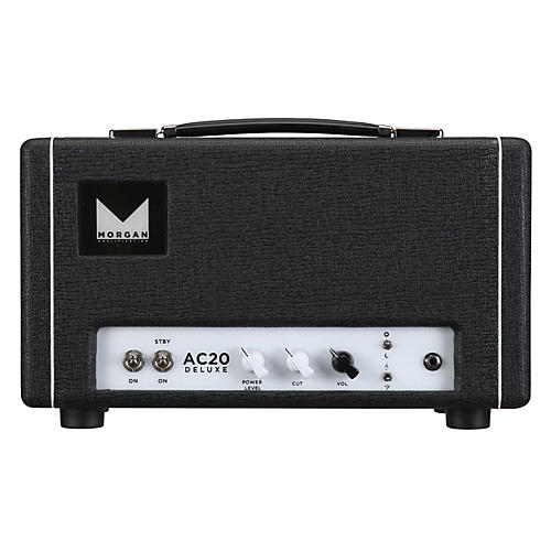 Morgan Amplification AC20 Deluxe 20W Tube Guitar Head-thumbnail