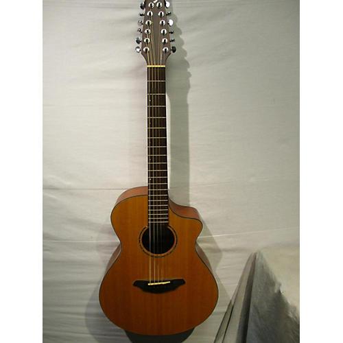 used breedlove ac250 sm 12 12 string acoustic electric guitar natural guitar center. Black Bedroom Furniture Sets. Home Design Ideas