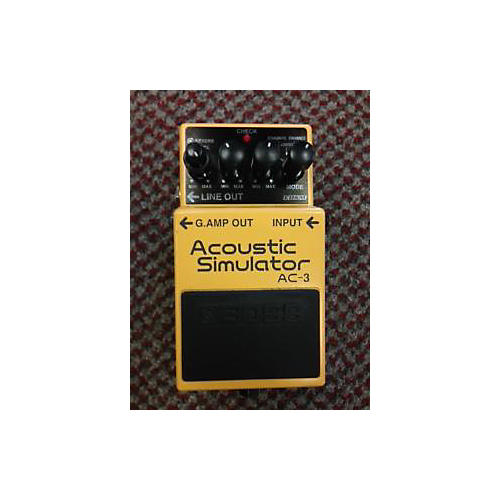 Boss AC3 Acoustic Simulator Effect Pedal