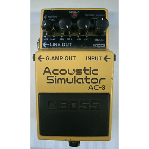 Boss AC3 Acoustic Simulator Effect Pedal-thumbnail
