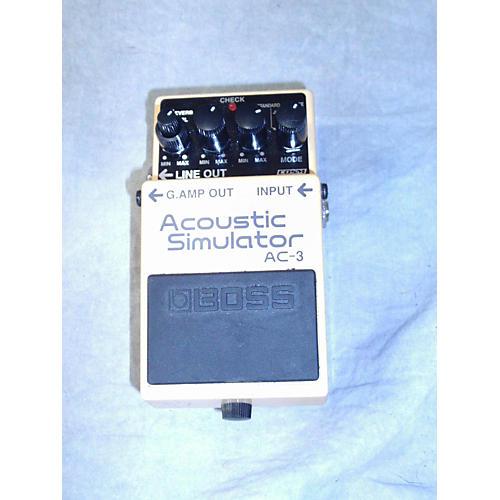 Boss AC3 Acoustic Simulator Effect Pedal-thumbnail
