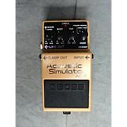 Boss AC3 Acoustic Simulator Effect Pedal