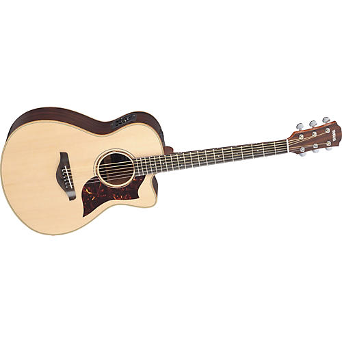 Yamaha AC3R All Solid Wood Concert Acoustic-Electric Guitar w/Hardshell Case