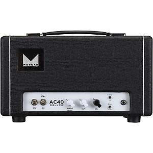 Morgan Amplification AC40 Deluxe 40 Watt Tube Guitar Head by Morgan Amplification