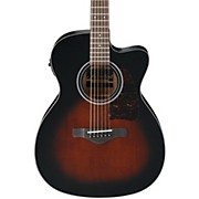 Ibanez AC400CEDVS Artwood Solid Top Grand Concert Acoustic-Electric Guitar