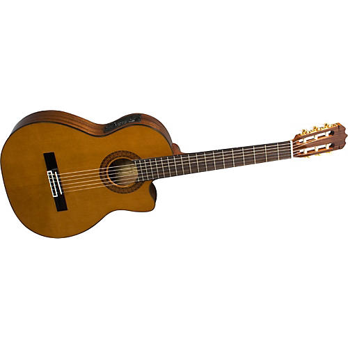 Alvarez AC460C Artist Cutaway Acoustic-Electric Classical Guitar with System 600 Mk II-thumbnail