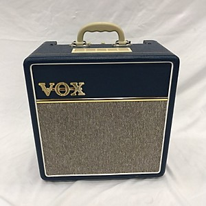 Pre-owned Vox AC4C1 4W 1x10 Mini Amp with Top Boost Tube Guitar Combo Amp by Vox
