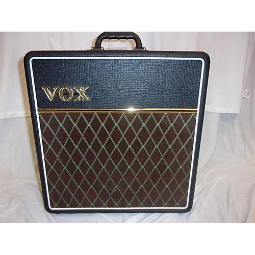 used vox ac4c1 4w 1x10 mini amp with top boost tube guitar combo amp guitar center. Black Bedroom Furniture Sets. Home Design Ideas