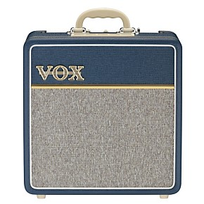 vox ac4c1 bl 4w 1x10 all tube mini guitar combo amp with top boost blue guitar center. Black Bedroom Furniture Sets. Home Design Ideas