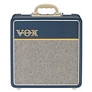 Vox AC4C1-BL 4W 1x10 All-Tube Mini Guitar Combo Amp with Top Boost