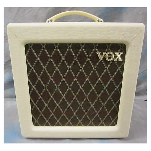 Vox AC4TV 4W 1X10 White Tube Guitar Combo Amp