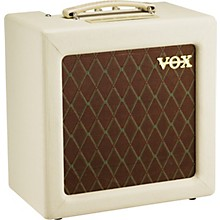 Vox AC4TV 4W 1x10 Tube Guitar Combo Amp Level 1 Cream