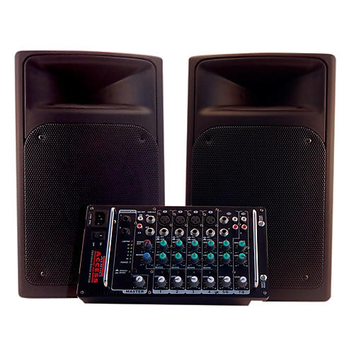 Nady ACCESS PSS-300 Full Range Portable PA with 8-Channel Mixer-thumbnail