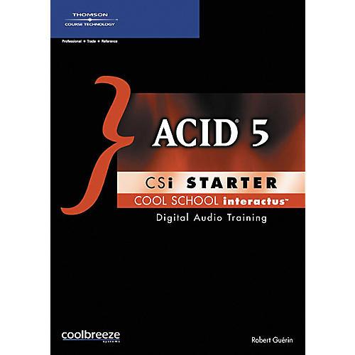 Course Technology PTR ACID 5 CSi Starter (CD-ROM)-thumbnail
