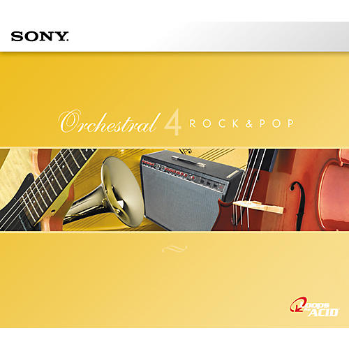 Sony ACID Loop Orchestral Series 4: Rock and Pop