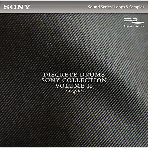 Sony ACID Loops - Discrete Drums: Volume 2-thumbnail