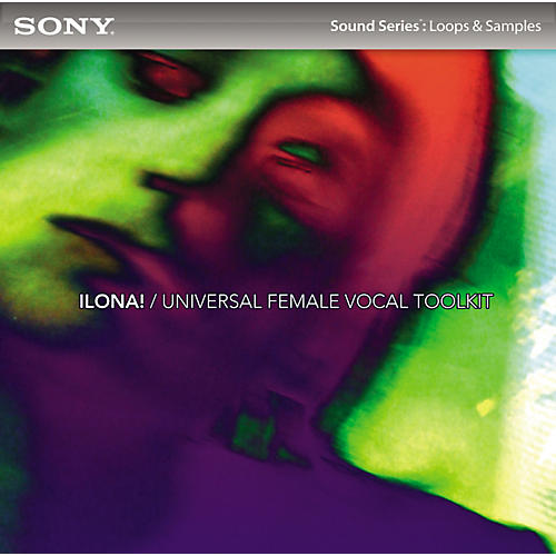 Sony ACID Loops - ILONA!: Universal Female Vocal Toolkit