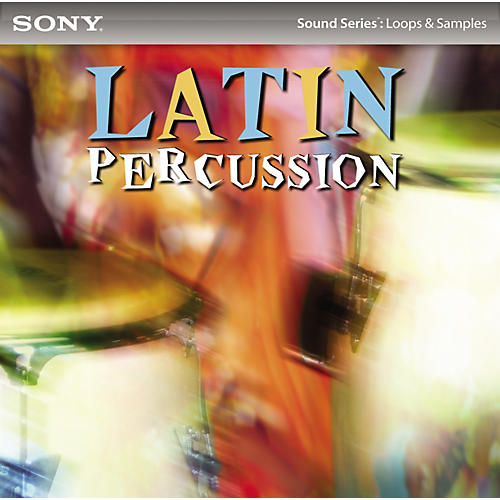 Sony ACID Loops - Joe Vitale: Latin Percussion