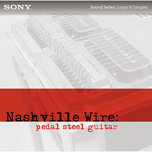 Sony ACID Loops - Nashville Wire: Pedal Steel Guitar