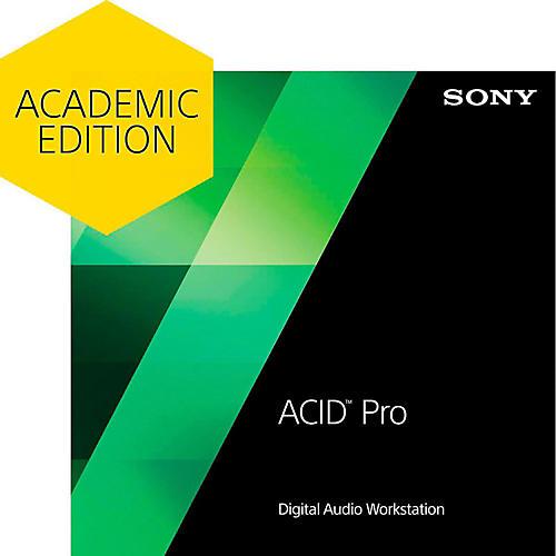 Sony ACID Pro 7 - Academic Software Download