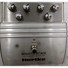 Hartke ACOUSTIC ATTACK AGX TONE-SHIFTER PRE AMP Effect Pedal Package