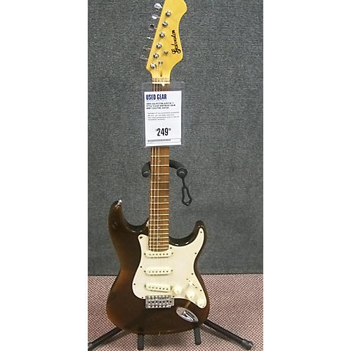 Galveston ACRYLIC S STYLE Solid Body Electric Guitar-thumbnail