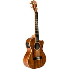 Lanikai ACS-CET All-Solid Acacia 6-String Tenor Acoustic-Electric Ukulele with Kula Preamp
