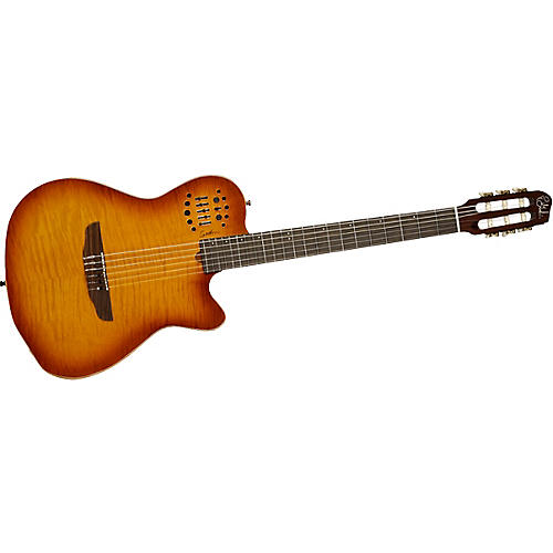 Godin ACS Nylon USB Lighburst Flame