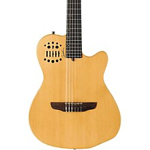 ACS-SA Slim Nylon String Cedar Top Acoustic-Electric Guitar Semi-Gloss Natural