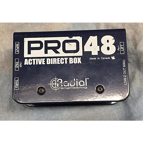 Radial Engineering ACTIVE DIRECT BOX Signal Processor