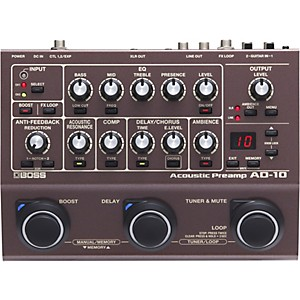 Boss AD-10 Acoustic Guitar Multi-Effects Pedal by Boss