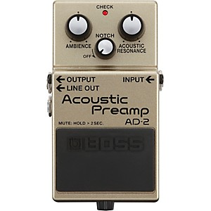 Boss AD-2 Acoustic Preamp Pedal by Boss