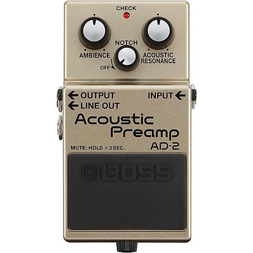 boss ad 2 acoustic preamp pedal guitar center. Black Bedroom Furniture Sets. Home Design Ideas