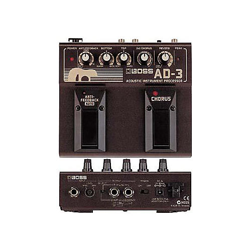 Boss AD-3 Acoustic Guitar Multi Effects Pedal-thumbnail