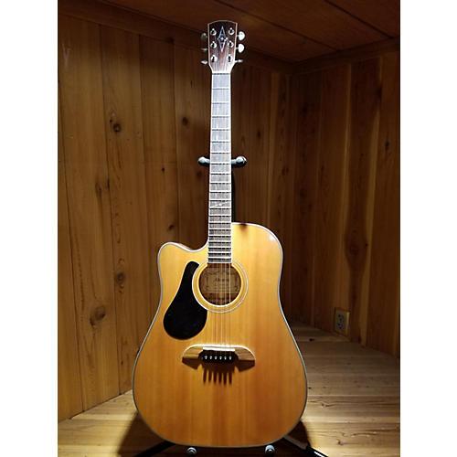used alvarez ad 60sclh acoustic electric guitar guitar center. Black Bedroom Furniture Sets. Home Design Ideas