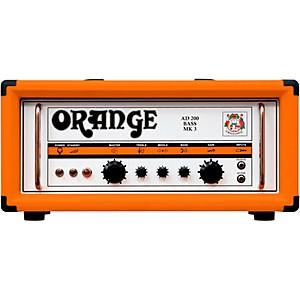 Orange Amplifiers AD Series AD200B 200 Watt Tube Bass Amp Head