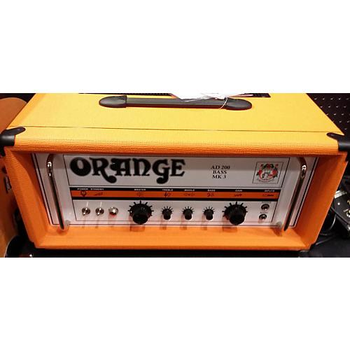 Orange Amplifiers AD200B 200W Tube Bass Amp Head-thumbnail
