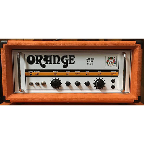 Orange Amplifiers AD200B 200W Tube Bass Amp Head-thumbnail