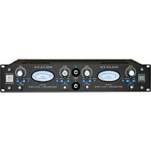 Avalon AD2022 Pure Class A Dual Mono Microphone Preamplifier & DI Level 1 Black