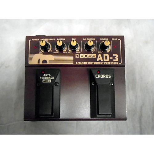 Boss AD3 Acoustic Instrument Processor Effect Processor-thumbnail