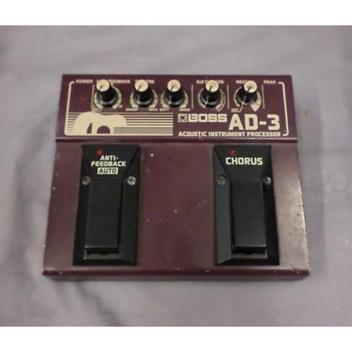 Boss AD3 Acoustic Instrument Processor Effect Processor
