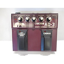 Boss AD3 Acoustic Instrument Processor Effect Processor