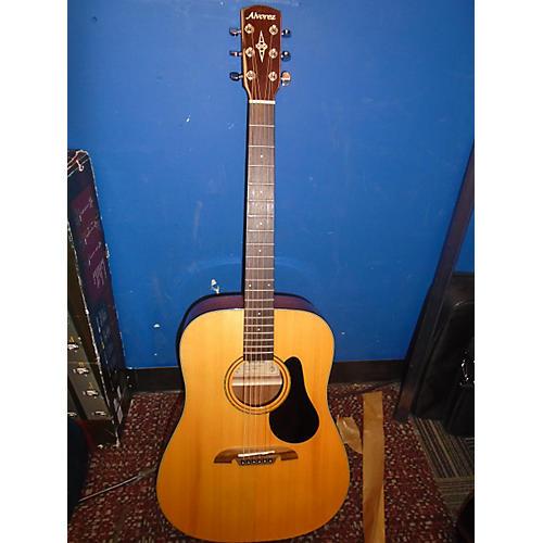 Alvarez AD30 Dreadnought Acoustic Guitar Natural