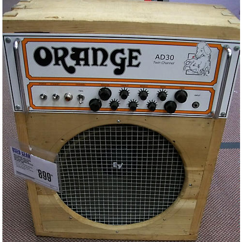 Orange Amplifiers AD30HTC 30W CUSTOM ENCLOSURE LOADED WITH EV SPEAKER Tube Guitar Combo Amp-thumbnail