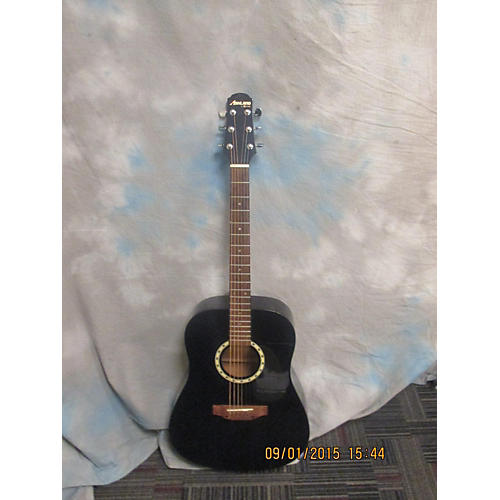 In Store Used AD36TBU Black Acoustic Guitar