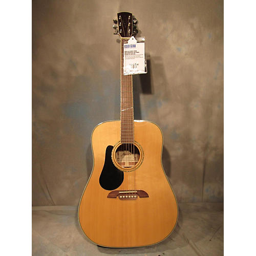 Alvarez AD60 Dreadnought Acoustic Guitar Natural
