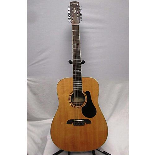 used alvarez ad6012cd artist series 12 string acoustic electric guitar natural guitar center. Black Bedroom Furniture Sets. Home Design Ideas