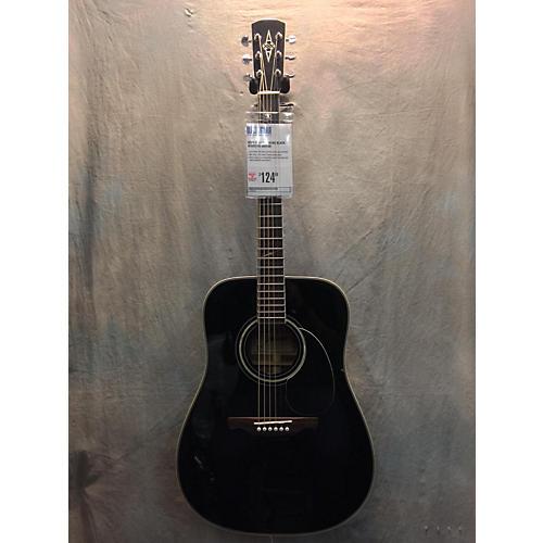 Alvarez AD60S Black Acoustic Guitar
