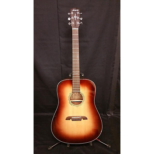 Alvarez AD610 Dreadnought Acoustic Electric Guitar-thumbnail