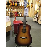 Alvarez AD610 Dreadnought Acoustic Electric Guitar